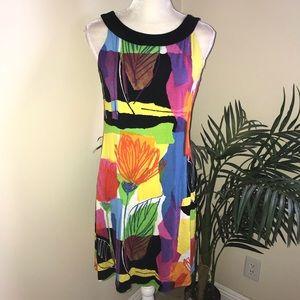 Joseph Ribkoff Stretch Sleeveless Dress